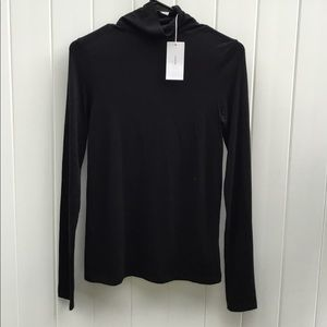 Vince Black Turtleneck Small
